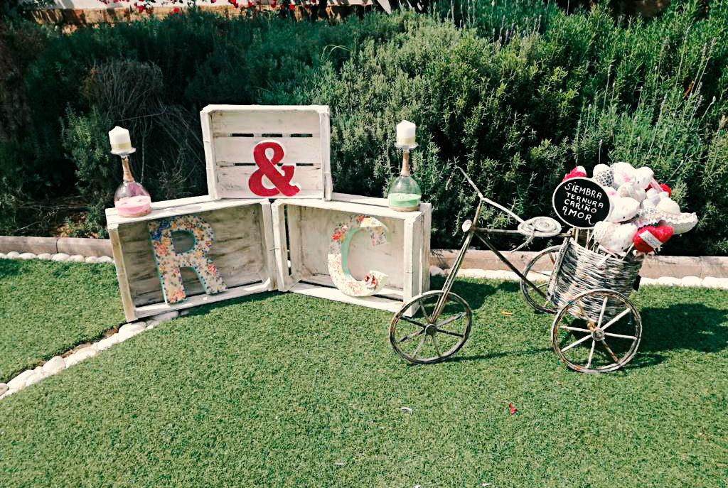 decoracion de bodas - el jardin de los molinos